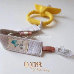 สายห้อยจุกหลอก ยางกัด ของเล่น Qd Qlipper