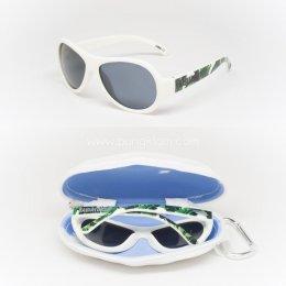 แว่นตากันแดดเด็ก BABIATORS รุ่น Polarized 0-3 ปี สี You're the palm!
