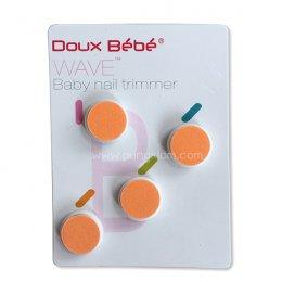 Doux Bebe หัวเปลี่ยนสำรอง (สีส้ม) ที่ตัดเล็บเด็กอัตโนมัติ