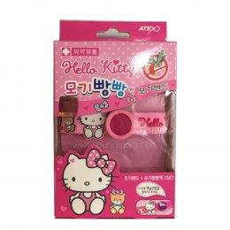 Hello Kitty Wristband +น้ำยา กันยุงสำหรับเด็ก