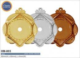 เหรียญรางวัลพลาสติก HM-003