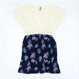 GIRLS 1-7Y.[C] LP0841 FLOWER SUMMER DRESS