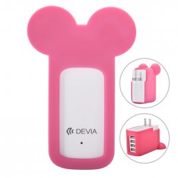 Devia Miki Multi Charger (RED)