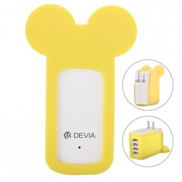 Devia Miki Multi Charger (Yellow)