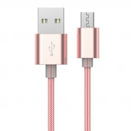 Devia Gracious Cable for Android (Rose Gold)