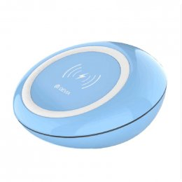 DEVIA Non-pole series Inductive Fast Wireless Charger - BLUE