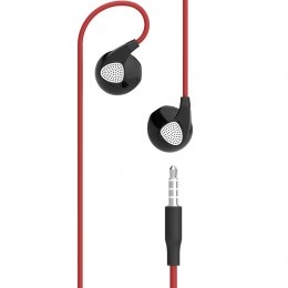 Devia D2 Ripple In-Ear Headphones (Red)