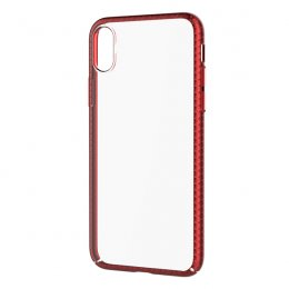 DEVIA LUXURIOUS GLIMMER  CASE for iPhone X - Red