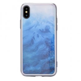 DEVIA LANDSCAPE CASE for iPhone X - BLUE