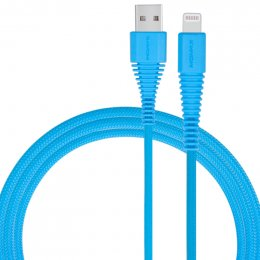 MOMAX Tough Link Lightning Cable (MFI) - Blue