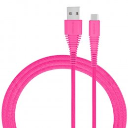 MOMAX Tough Link USB-C To USB Cable - Pink