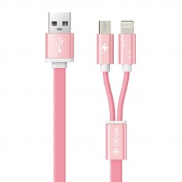 Devia Magnet 2 in 1 Cable (PINK)