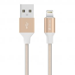 Devia Gracious CABLE For Apple IOS 7&8&9 (Gold)