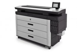 เครื่องพิมพ์แบบแปลน HP PageWide XL 8000 Colorprinter
