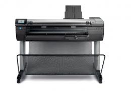 เครื่องพิมพ์แบบแปลน HP DesignJet Series