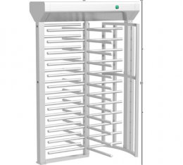 SEWO-Z1 Full Height Turnstile Gate