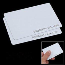 บัตร Proximity 0.8 mm (บัตรบาง)