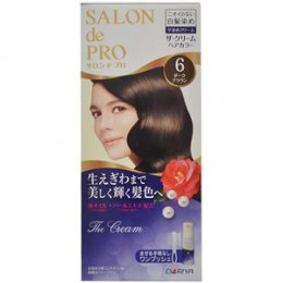 DARIYA SALON DE PRO THE CREAM HAIR COLOR #6 (DARK  BROWN)