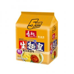 SAUTAO NOODLE KING-WIDE ABALONE&CHICKEN SOUP FLAVORED 5x70 g.