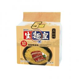 SAUTAO NOODLE KING-THIN PEPPER DUCK SOUP FLAVORED 5x70 g.