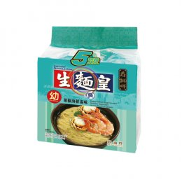 SAUTAO NOODLE KING-THIN PEPPER SEAFOOD SOUP FLAVORED 5x70 g.
