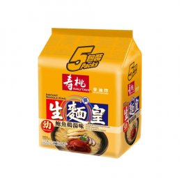 SAUTAO NOODLE KING-THIN BALONE&CHICKEN FLAVORED 5x70 g.