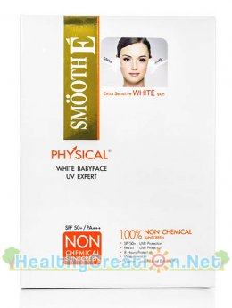 SMOOTH E  PHYSICAL SUNSCREEN WHITE BABYFACE UV EXPERT