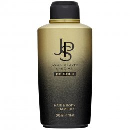 JOHN PLAYER SPECIAL BE GOLD HAIR & BODY SHAMPOO 500 ml.