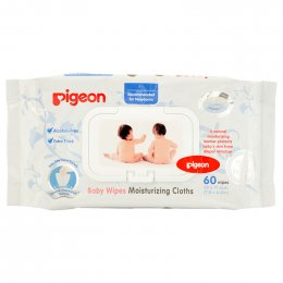 Pigeon Baby Wipes Moisturizing Cloths