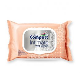 Ultra Compact Intimate wet wipes 25 pcs.