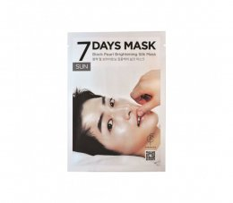 Forencos 7 Days Mask Black Pearl Silk Mask