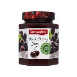 Streamline Reduced Sugar Black Cherry Jam