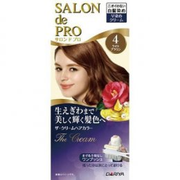DARIYA SALON DE PRO THE CREAM HAIR COLOR #4 [BRIGHTEST BROWN]