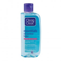 CLEAN & CLEAR ESSENTIALS OIL-CONTROL TONER OIL-FREE