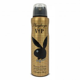 PLAYBOY VIP   SKINTOUCH INNOVATION 24H DEODORANT BODY SPRAY FOR HER