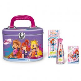 ADMIRANDA Winx Tin Case Edt Set