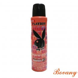 PLAYBOY GENERATION SKINTOUCH INNOVATION 24H DEODORANT BODY SPRAY FOR HER