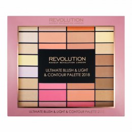 Makeup Revolution Blush & Light & Contour Palette 2018