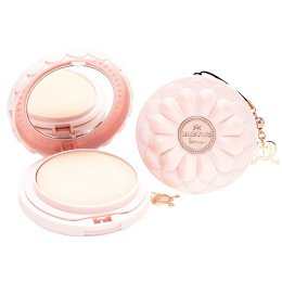 Bisous Bisous Rainbow Cluster Crystal Powder Pact #Natural Beige