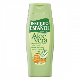 INSTITUTO ESPANOL ALOE VERA Moisturizing Lotion Hand And Body