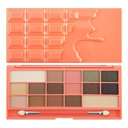 Makeup Revolution I Heart Makeup Palette Chocolate and Peaches 16 Colour