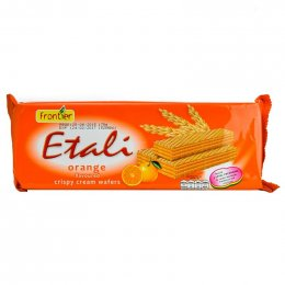 FRONTIER Etali Orange Flavor Cream Filled Wafer