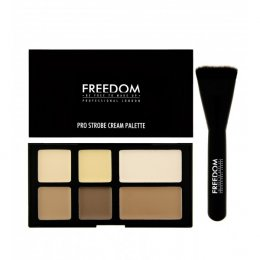 Freedom Pro Strobe Cream Palette With Brush 10g