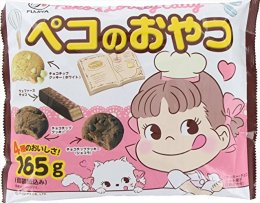 FUJIYA PEKO'S SWEETS CHOCOLATE WAFERS & CHOCOLATE CHIP COOKIES 165 g.