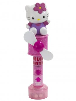 BLJ Hello Kitty Cool Fan Candy Stick Whit Candy