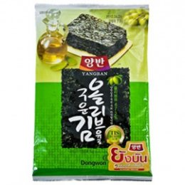 YANGBAN SEASONED LAVER WITH OLIVE OIL 20 g.