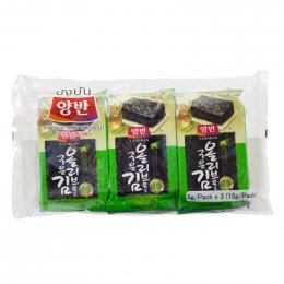 YANGBAN SEASONED LAVER WITH OLIVE OIL 3x5 g.