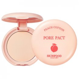 Skinfood Peach Cotton Pore Pact 9 g.