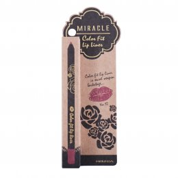 Mei Linda Miracle Color Fit Lip Liner #12 Red Wine