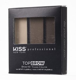 Kiss New York Professional Top Brow Kit Brunette KBK03